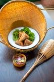 泰国食物进入 免版税库存图片
