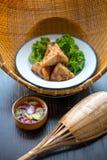 泰国食物进入 图库摄影