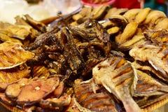 泰国食物 炸鱼 库存照片