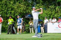 泰国高尔夫球冠军的史蒂夫Lewton 2015年 库存照片