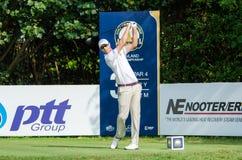 泰国高尔夫球冠军的尼古拉斯Colsaerts 2015年 库存图片