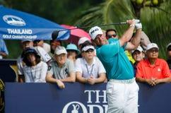 泰国高尔夫球冠军的李・维斯特伍德2015年 库存图片