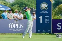 泰国高尔夫球冠军的片山晋吴2015年 免版税库存图片