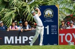 泰国高尔夫球冠军的马丁・凯默尔2015年 免版税库存图片