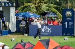 泰国高尔夫球冠军的马修Fitzpatrick 2015年 图库摄影