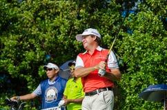 泰国高尔夫球冠军的贾森Knutzon 2015年 免版税库存图片