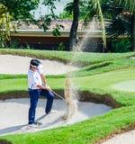 泰国高尔夫球冠军2014年 库存照片