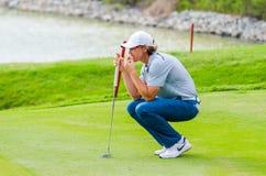 泰国高尔夫球冠军2014年 图库摄影