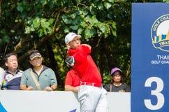 泰国高尔夫球冠军2015年 库存照片