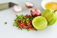 泰国鱼子酱三口味 免版税库存照片