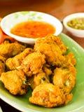 泰国鸡的油炸物 库存照片