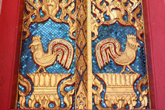 泰国鸡金黄的样式 免版税库存图片