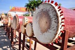 泰国鼓 库存照片
