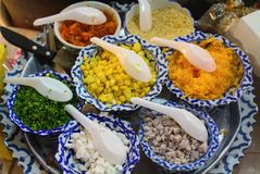 泰国,点心,食物,香蕉,甜点,文化 免版税库存图片