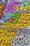 泰国,芭达亚, 27 06 2017有肥皂的,从thi的纪念品商店 图库摄影