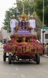 泰国,花节日 免版税库存照片