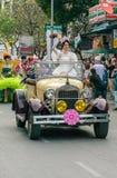 泰国,花节日 免版税图库摄影