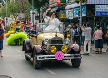 泰国,花节日 库存图片