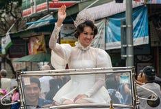 泰国,花节日 免版税库存图片