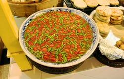 泰国,辣椒,浆糊,食物 图库摄影