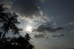 泰国,酸值苏梅岛海滩 图库摄影