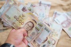 泰国, 1000的金钱泰铢 免版税库存图片