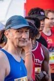 泰国, Khaoyai - 2016年10月2日,足迹系列老虎香脂2016年  它是足迹在khaoyai的赛跑者事件在泰国 免版税图库摄影