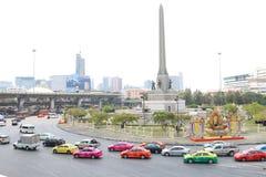 泰国:胜利纪念碑 库存照片