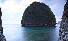 泰国: 在日出之前 免版税库存图片