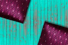 泰国织品的模式 库存照片