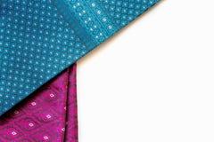 泰国织品的模式 库存图片