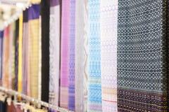 泰国织品 库存照片