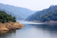 泰国水坝 库存照片