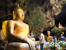 泰国洞寺庙 免版税库存照片