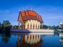 泰国水寺庙 图库摄影