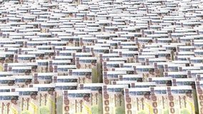 泰国货币1000泰铢 图库摄影