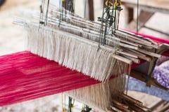 泰国织布机 免版税图库摄影