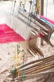 泰国织布机 免版税库存照片