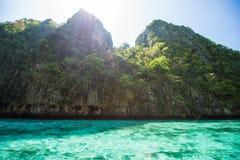 泰国- 2017年4月31日: :洪海岛-美好的地方在Krab 免版税库存图片