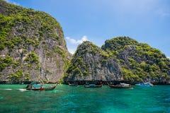 泰国- 2017年4月31日: :洪海岛-美好的地方在Krab 库存图片