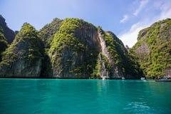 泰国- 2017年4月31日: :洪海岛-美好的地方在Krab 图库摄影
