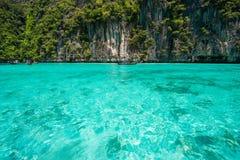泰国- 2017年4月31日: :洪海岛-美好的地方在Krab 库存照片