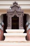 泰国结构的样式 免版税图库摄影