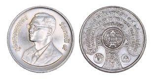 泰国2泰铢,树的1986全国年1985-1988 免版税图库摄影