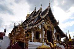 泰国-清迈寺庙  免版税库存照片