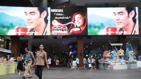 泰国购物百人队队长曼谷 影视素材