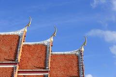 泰国建筑学 免版税库存照片