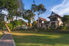 泰国 Ko张 旅馆Plaloma峭壁手段区域 免版税库存照片