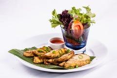 泰国BBQ鸡 图库摄影