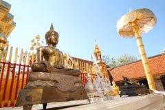 泰国budha的寺庙 免版税库存图片